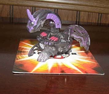 BAKUGAN SEASON 2 WALMART EXCLUSIVE EVOLUTION NEW LOOSE TRANSLUCENT BLACK DARKUS APOLLONIR 640G by Bakugan