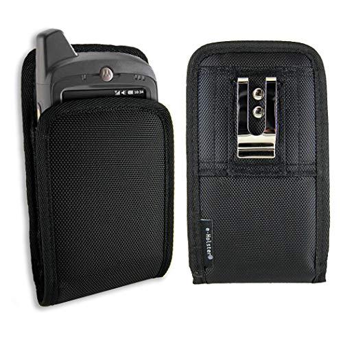 (e-Holster Rugged Handheld Computer Case with Belt Clip and Belt Loop fits Motorola Zebra MC40, MC45, MC55, MC65, MC67, MC70, MC75)
