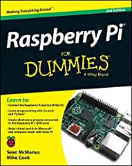 Master your Raspberry Pi in a flash with this easy-to-follow guide Raspberry Pi For Dummies, 2 Edition is a comprehensive guide to this exciting technology, fully updated to align with the Rev 3 board. Veteran technology authors provide exper...