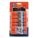 #6: Elmer's Disappearing Purple School Glue Sticks, 0.21 oz Each, 8 Sticks per Pack (E1591)
