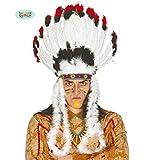 Penacho Indio blanco