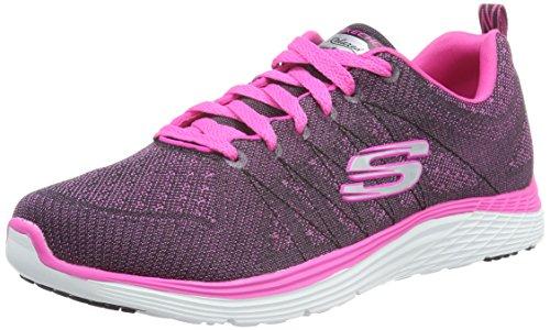 Skechers 12224 - Zapatillas para mujer Multicolor (Bkhp)