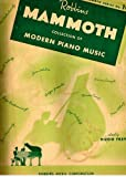 img - for Robbin's MAMMOTH Collection of Modern Piano Music - Mammoth Series No. 10 book / textbook / text book
