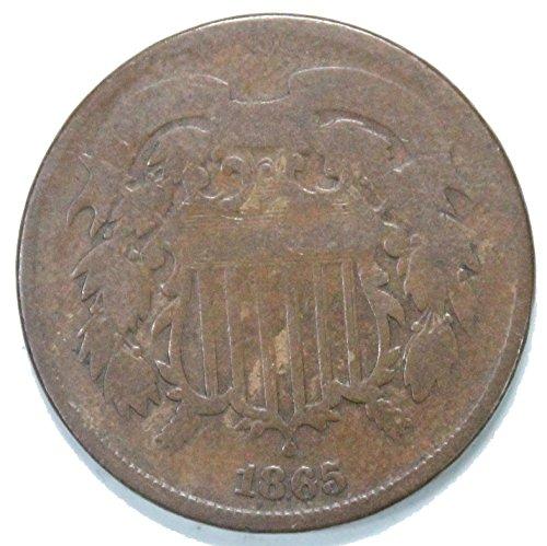 1864 - 1869 Shield 2 Cent Piece ()