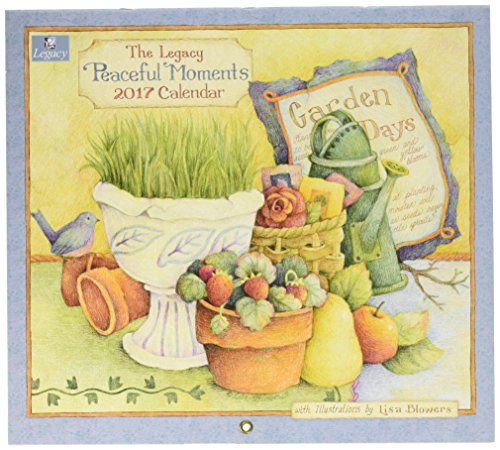 Legacy Publishing Group 2017 Wall Calendar, Peaceful Moments