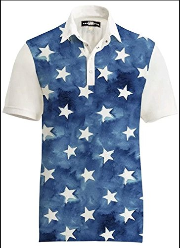 Loudmouth Golf Outdoor Clothing Mens Shirts Fancy All Stars Shirt Size: -