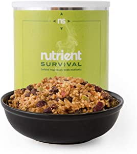 Nutrient Survival Southwestern Medley   Nutrient Dense   Non-perishable #10 Can   25 Year Shelf Life   Freeze Dried Emergency Food