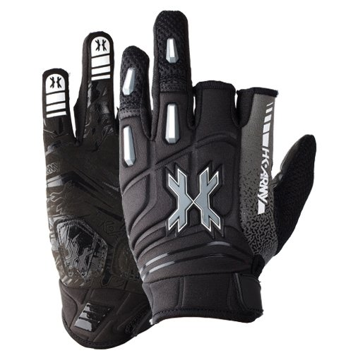 Stealth Gloves (HK Army 2014 Pro Paintball Gloves - Stealth - Large)