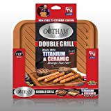 Gotham Steel Ti-Cerama Double Sided Grill/Griddle