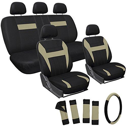 OxGord Set Airbag Front Buckets 50 50 Rests Universal Van Steering product image