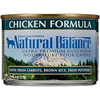 Natural Balance Pet Food Ultra Premium Dog Food Canned Chicken Formula - 6 oz