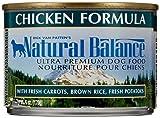 Natural Balance Pet Food Ultra Premium Dog Food Canned Chicken Formula -- 6 oz