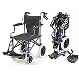 Leichte Deluxe-Klappreise Rollstuhl in einer Tasche mit Handbremsen - ECTR04
