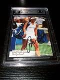MARTINA HINGIS signed autographed 2003 NETPRO TENNIS CARD BECKETT SLABBED BAS - Autographed Tennis Cards