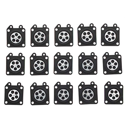 Carburetor Diaphragm (Carbhub 95-526 Metering Diaphragm Assembly for Walbro WA WT WY WZ Series Carburetor (Pack of 15))