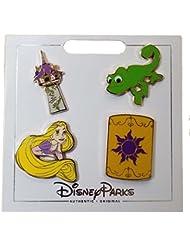 Disney Pin - Tangled Icons Set