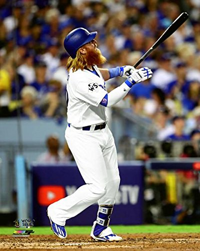 6267e1d0d Los Angeles Dodgers Justin Turner. 2017 World Series Home Run 8x10  Photograph Picture.