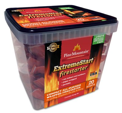Starter Fire Basket (Jarden HOME BRANDS-FIRELOG 41525-01040 Firelog 20 Count Extra Fire Starter)