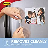 Command Fridge Clips, Clear, 6-Clips
