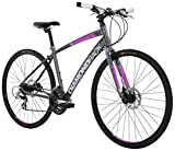 Diamondback Bicycles Women's 2016 Clarity 2 Complete Performance Hybrid Bike, 16 Inch Frame 16 Grey/Pink Diamondback Bikes