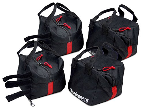 GigaTent Canopy Weights Bag Cube - Heavy Duty - Leg Weights For Pop Up Canopies by GigaTent