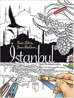 Istanbul Kartpostal Boyama 20 Adet Kartpostal Hatice Isýlak