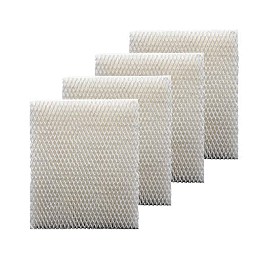 Colorffullife 4 Pack Humidifier Filter T for Honeywell Top Fill Tower Humidifier HEV615, HEV620, Replacement HFT600 Filter T