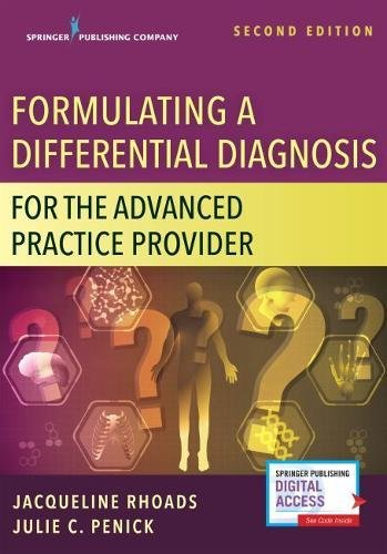 826152228 - Formulating a Differential Diagnosis for the Advanced Practice Provider, Second Edition