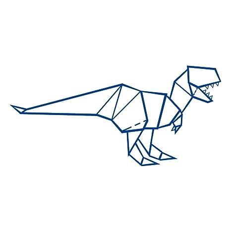 Amazon.com: Origami T Rex Tyranosaurus rex - Vinilo adhesivo ...