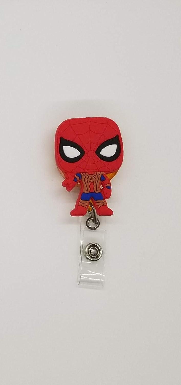 Iron spider badgeholder