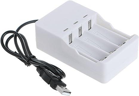 1.2V Intelligent 3-Slot AA//AAA Ni-MH Ni-Cd Battery Charger USB Plug Universal