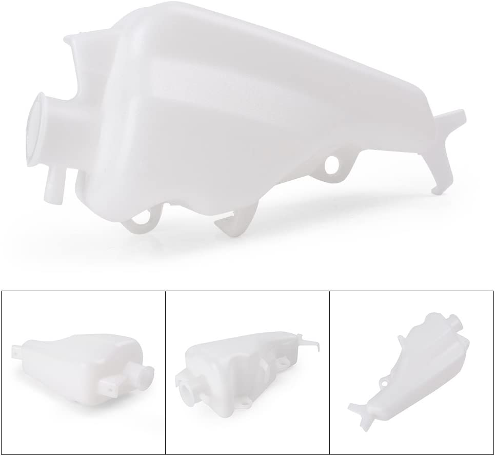 GZYF Radiator Water Coolant Overflow Tank Bottle Reservoir Compatible with Yamaha YZF-R6 2003-2005