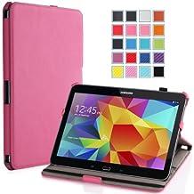 MoKo Samsung Galaxy Tab 4 10.1 / Tab 4 Nook 10.1 2014 Case - Slim-Fit Multi-angle Folio Cover Case for Samsung GALAXY Tab 4 10.1 inch, MAGENTA