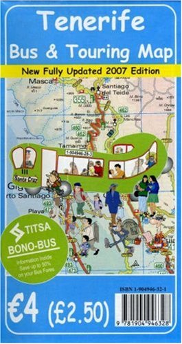 Tenerife Bus and Touring Map 2007