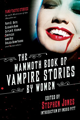 The Mammoth Book of Vampire Stories by Women cover