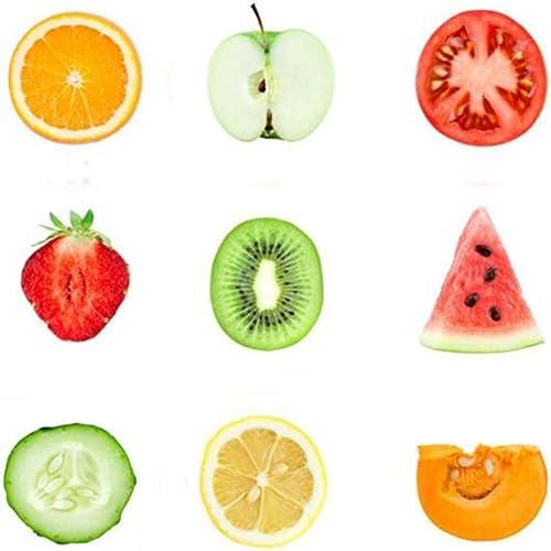 GuDeKe Nueve Tipos de Fruta Set Broche de la Camisa Broche de ...