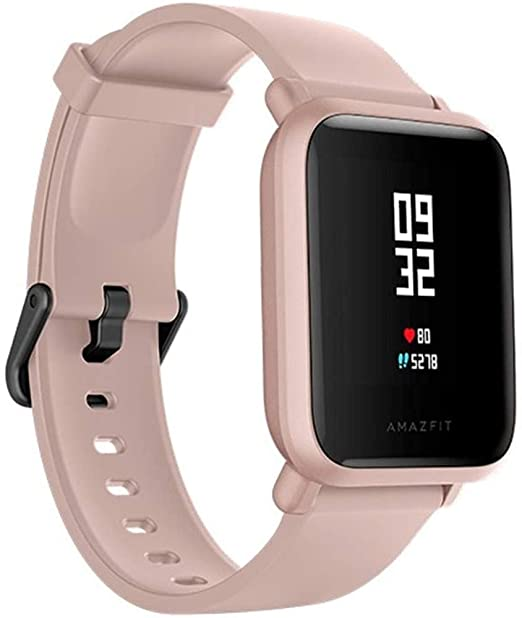 Amazfit - Reloj Inteligente Smartwatch Amazfit Bip Lite Rosa