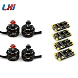 LHI Brushless 4pcs 2306 Motor FPV kv2600 CW/CCW + 4PCS Wraith32 - 32bit blheli_s 32 ESC 30A-35A DSHOT1200 Built in Current Sensor For FPV Quadcopter