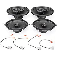 1998-2002 Ford Crown Victoria Complete Premium Factory Replacement Speaker Package by Skar Audio