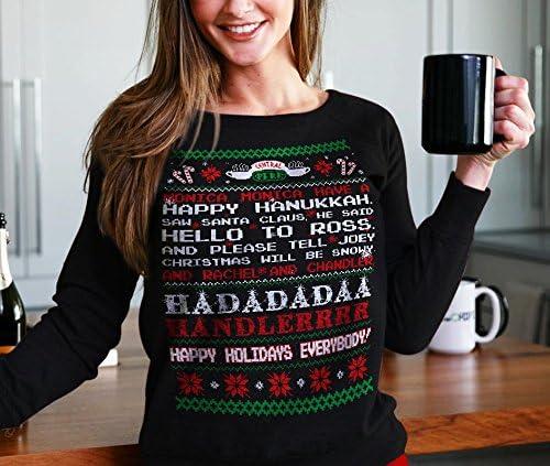 Funny Friends Movie Christmas Sweatshirt for Fans Hurry That Year Christmas Friends Sweatshirt