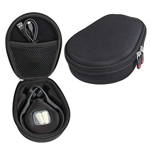 (Hermitshell Hard Case fits AfterShokz Trekz Air Open Ear Wireless Bone Conduction Headphones AS650 (Black))