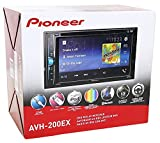 Pioneer AVH-200EX Multimedia DVD Receiver with 6.2' WVGA Display, and Built-in Bluetooth
