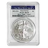 2021 (W) 1 oz American Silver Eagle Coin MS70