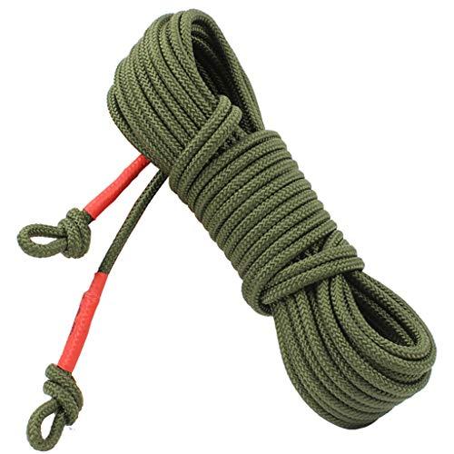 QARYYQ Climbing Rope Auxiliary Rope Lifeline Steel Core Diameter 8mm Ropes (Size : 25m)
