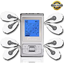 FDA cleared TENS Massager Unit TechCare 9 Modes 2 in 1 dual AB channels Portable Full Body Handheld Muscle Ache Relief Products Impulse Mini Massager Electronic Pulse Electrotherapy Pain Management