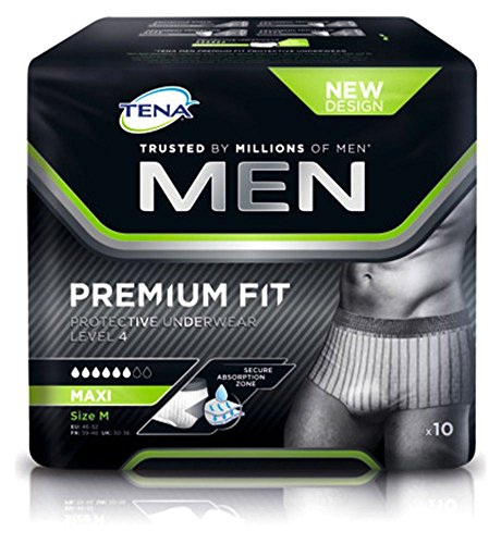 Tena Men Premium Fit Pants Plus Medium - 10 Pants