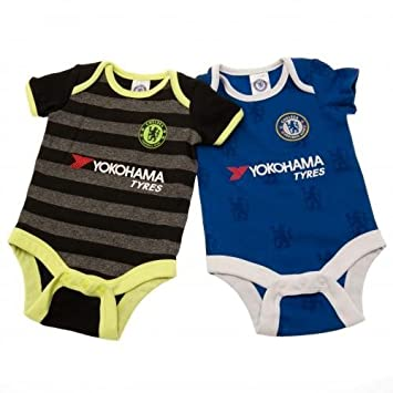 new arrival a8f4b 8d7af Amazon.com : Official Chelsea FC Baby Kit Bodysuits - - 2016 ...