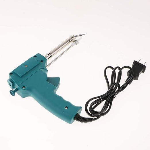 SM SunniMix Manual 220V 60W Envía Seguridad de Lata de Succión para Soldador Eléctrico de Pistola de Lata: Amazon.es: Bricolaje y herramientas