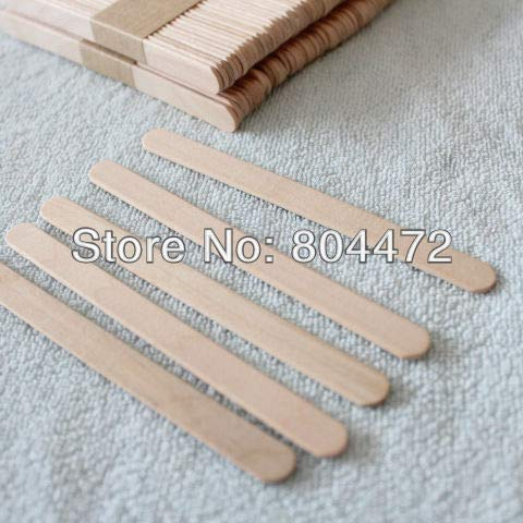 Moonnight Store Ice Cream Stick size 114102 mm 1000 pcs/lot popsicle Stick for DIY ice cream, Wooden sticks for craft purposes by Moonnight Store (Image #5)