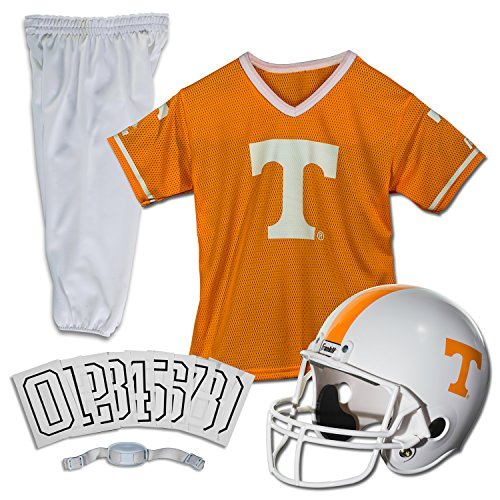 Franklin Sports NCAA Tennessee Volunteers Deluxe Youth Team Uniform Set, Medium]()